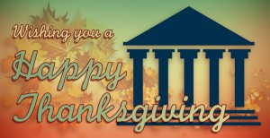 Wishing you a Happy Thanksgiving.